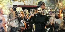 Tak Omenaa Mensah ubrała się na pogrzeb. Wypada?
