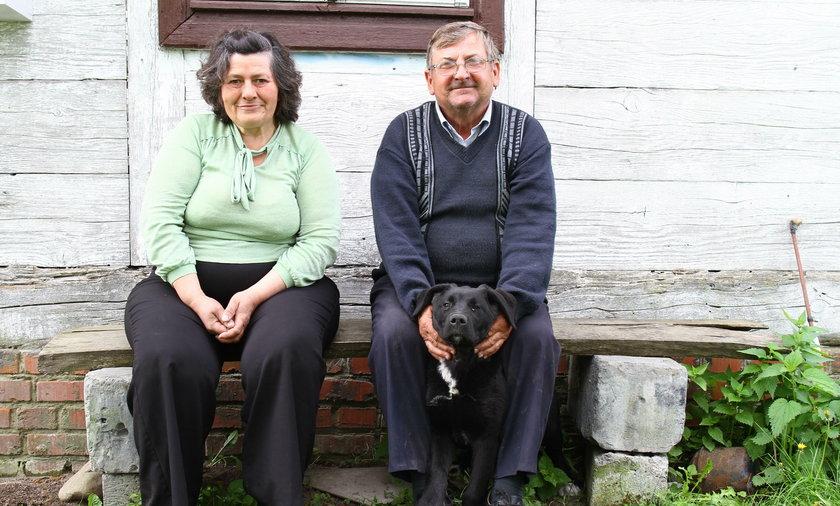 Sołtys z żoną mieszkają w najmniejszej wsi w Polsce