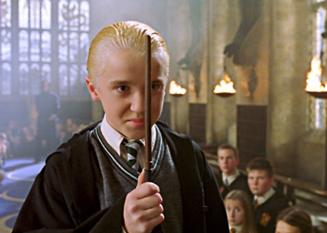 "Tom Felton u filmu ""Hari Poter"""