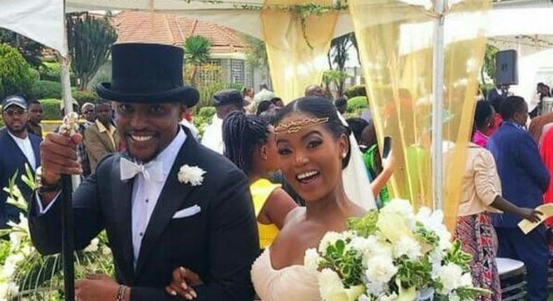 Mwaura weds Momanyi