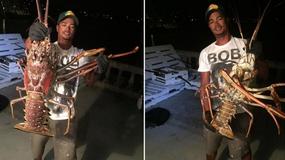 Bermudy: rybacy złowili ogromnego homara