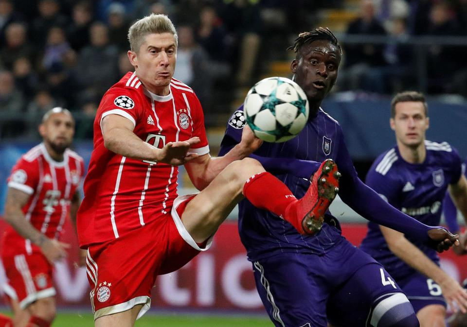 Champions League - Anderlecht vs Bayern Munich
