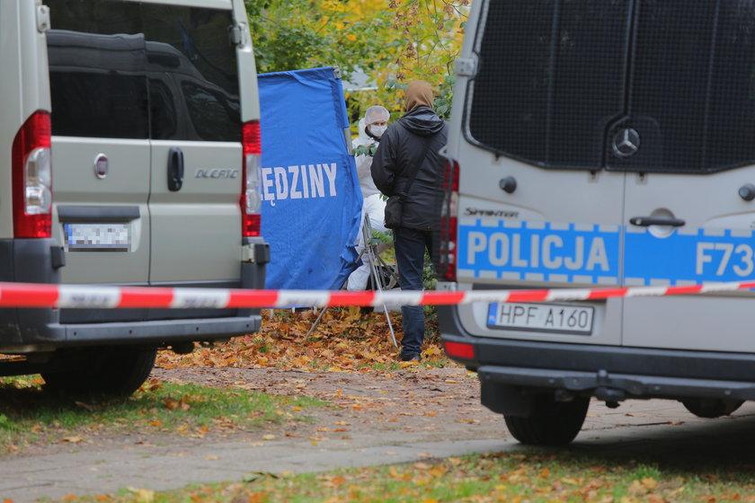 Zwłoki znalezione przy Kosynierów Gdyńskich