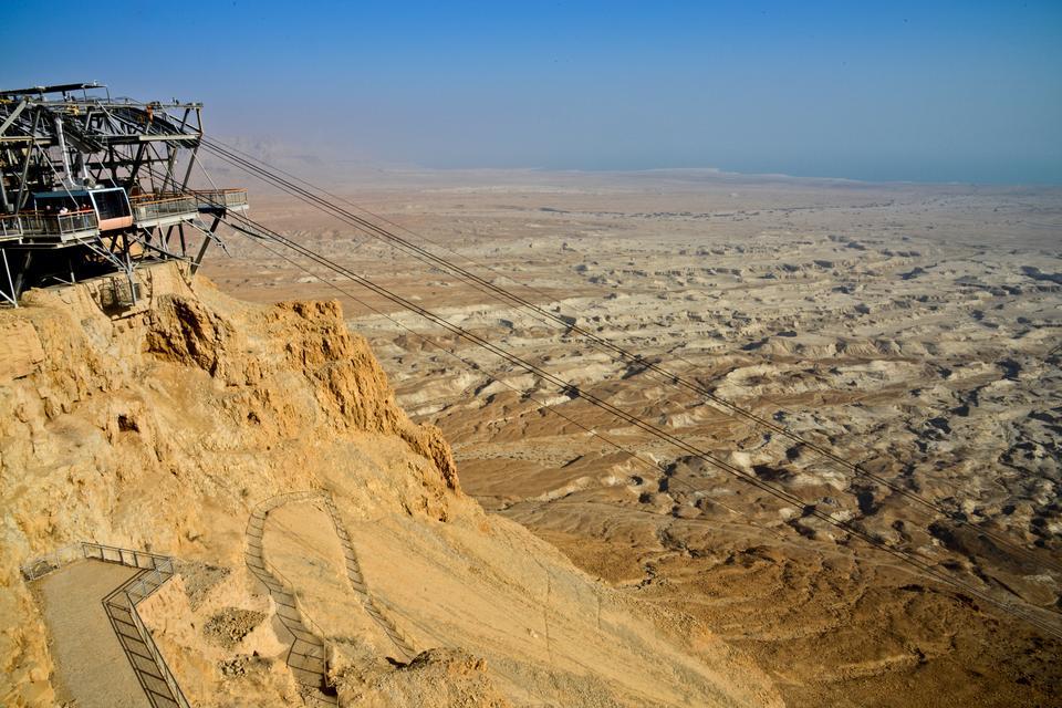 Masada - święte miejsce Izraela, twierdza jest symbolem bohaterstwa, ale też upadku i końca niepodległości Żydów.