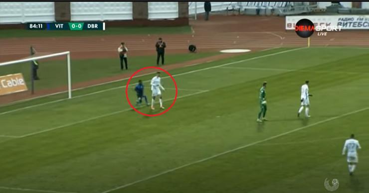 Detalj sa utakmice beloruske lige