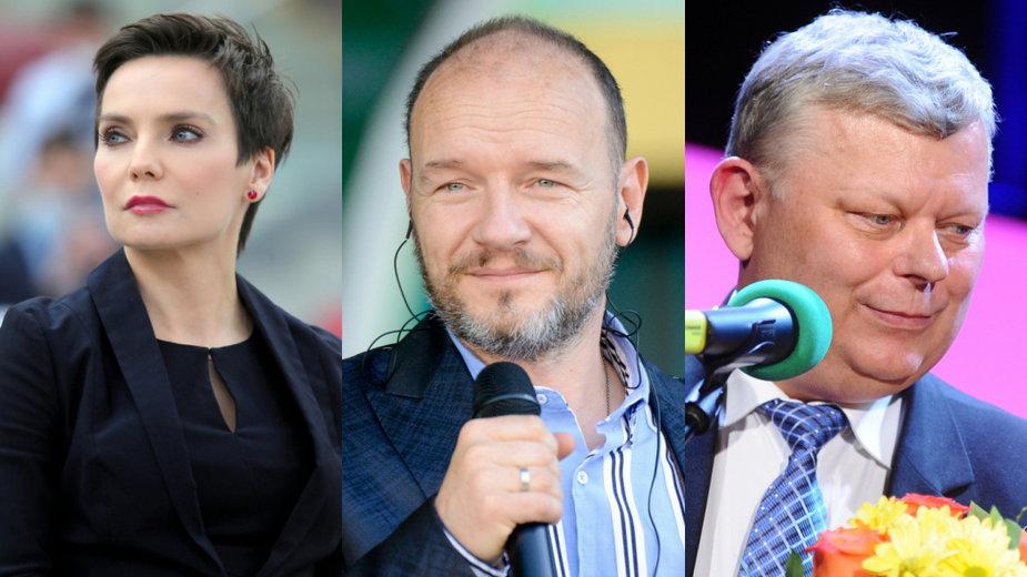 Agnieszka Kamińska (East News, fot. Piotr Molecki), Redbad Klynstra-Komarnicki i Marek Suski (MW Media, fot. Piotr Andrzejczak)