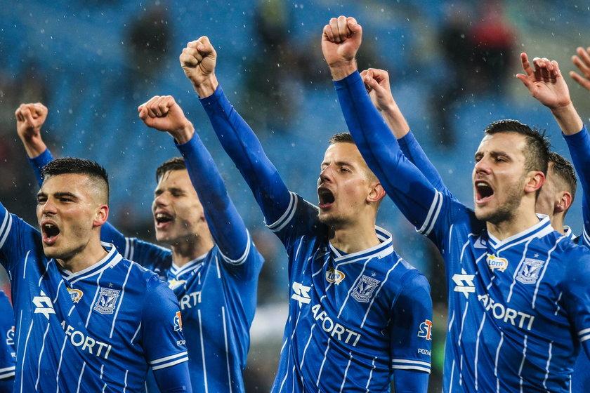 Zawodnicy Lecha chcą zrobić wszystko, by legioniści nie świętowali wywalczenia mistrzostwa kraju w stolicy Wielkopolski