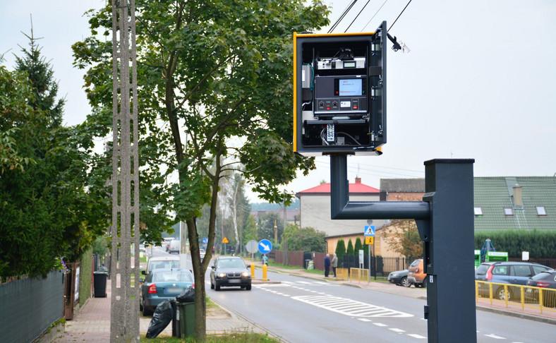 Fotoradar w Brześcach