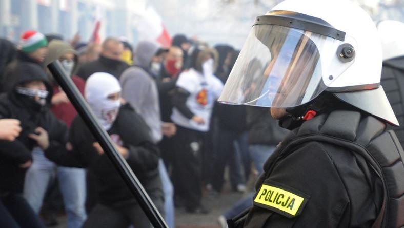 Zamieszki z ubiegłego roku w Warszawie: 11.11.11 r.