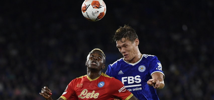 Liga Europy. Cztery gole w meczu Leicester-Napoli. Legia liderem grupy!