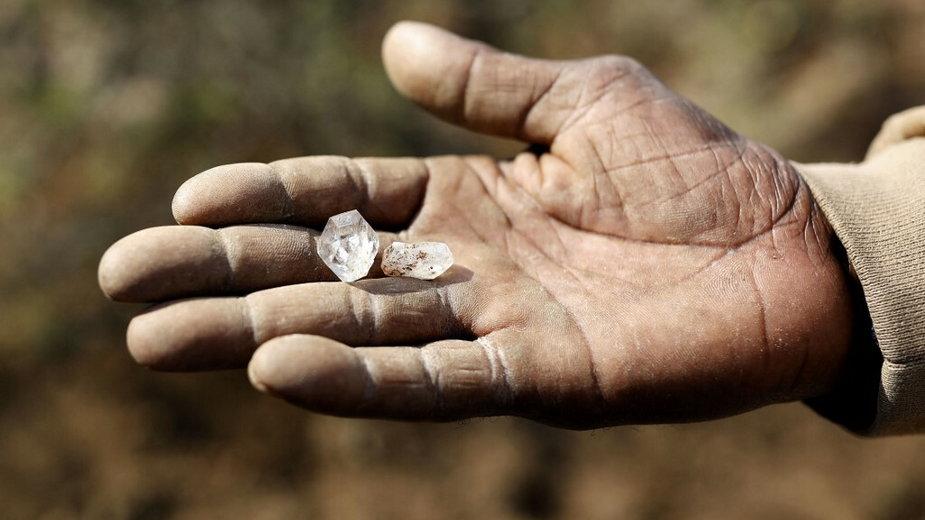 """""""Diamentowa gorączka"""" we wiosce KwaHlathi, RPA"""