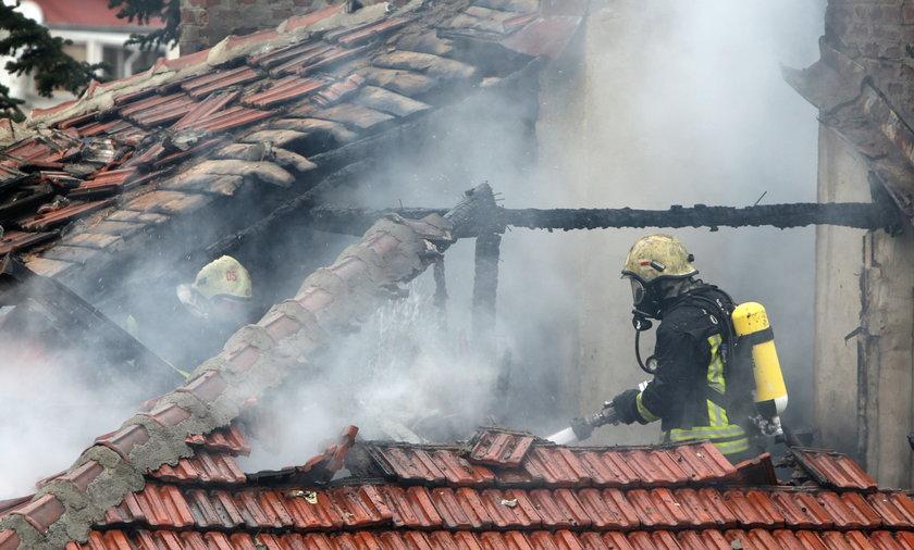 Pożar w Krakowie. Nie żyje staruszka.