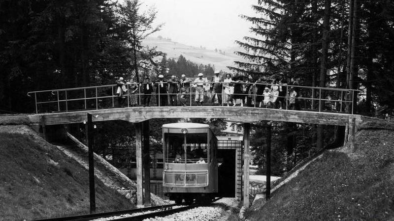 80 lat kolei na Górę Parkową w Krynicy Zdroju