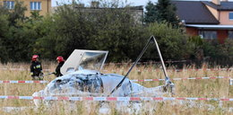 Spadł helikopter TVN24. Załoga przewieziona do szpitala