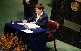 Szydło w ONZ: Polska orędownikiem efektywnych rozwiązań dla klimatu