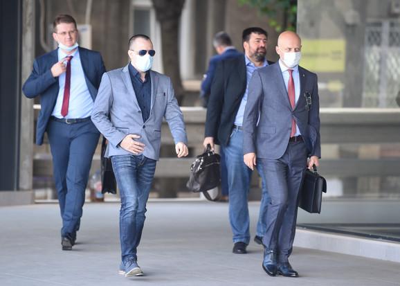 Zoran Marjanović stigao na suđenje