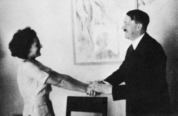 Leni Rifenštal i Adolf Hitler