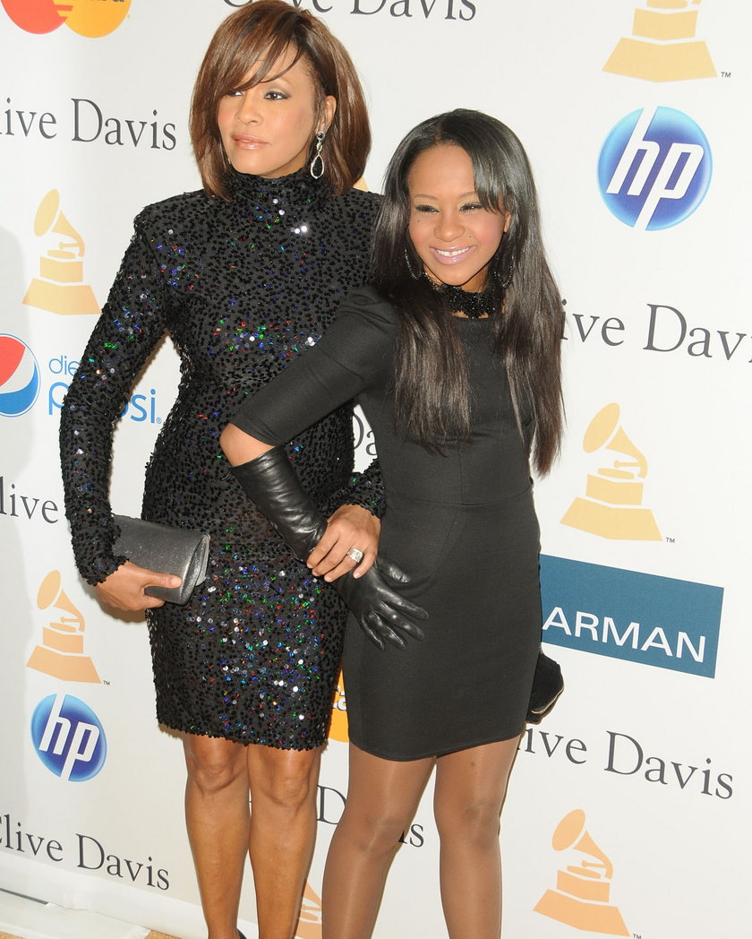 Bobbi Kristina z Whitney Houston