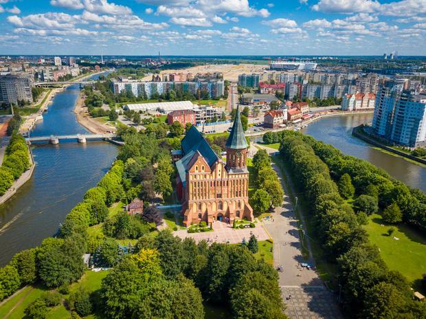 Wyspa Kanta i Katedra św. Wojciecha i Najświętszej Marii Panny, Kaliningrad