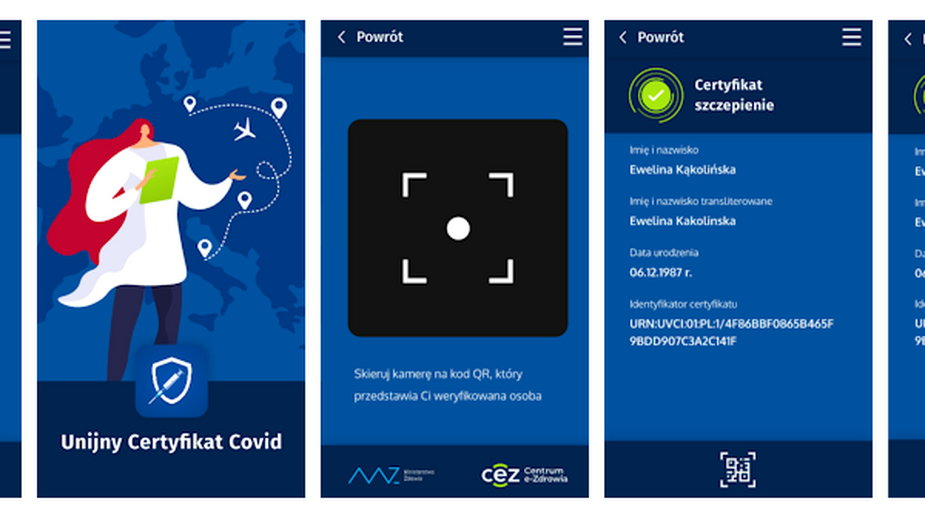 Jak sprawdzić ważność Unijnego Certyfikatu COVID aplikacją?