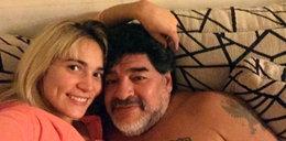 Maradona wciąż w formie. Zobacz jak tańczył ze swoja narzeczoną. WIDEO