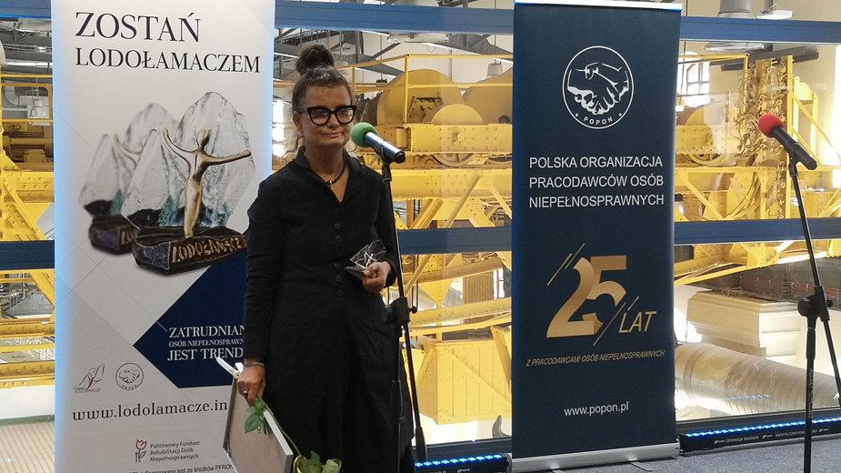 Anna Rozetti - twórczyni Centrum terapii i autyzmu Navicula w Łodzi Lodołamacz specjalny 2020