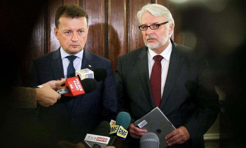Witold Waszczykowski i Mariusz Błaszczak