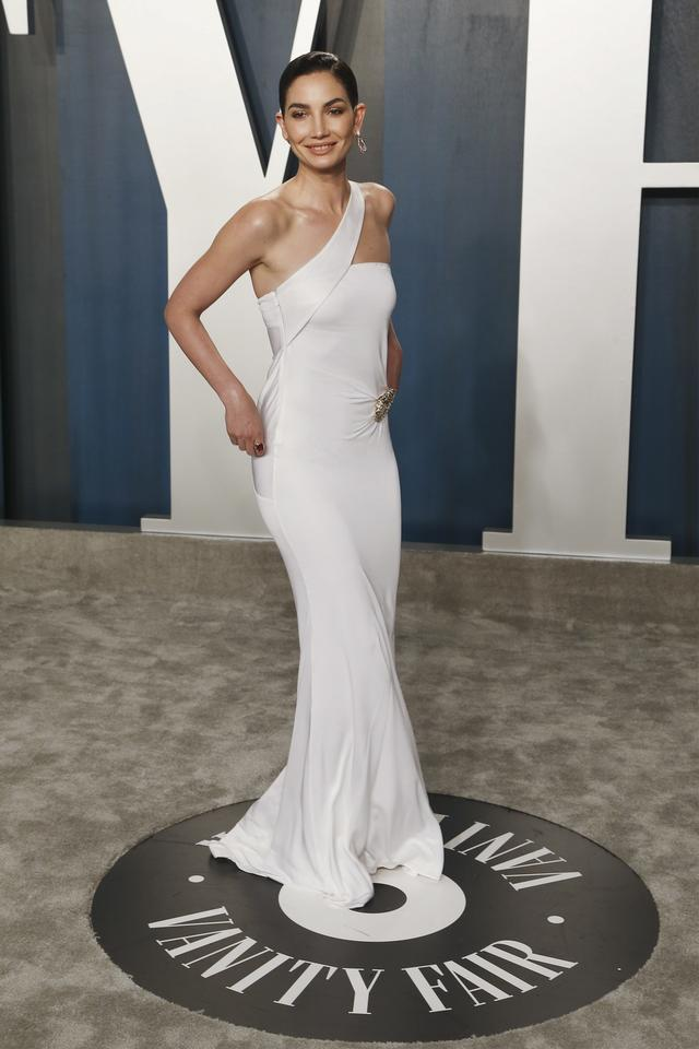 Oscary 2020: Lily Aldridge na Vanity Fair Oscar Party