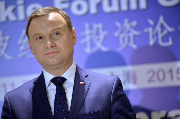 Zdaniem Andrzeja Dudy to Platforma chciała zawłaszczyć Trybunał