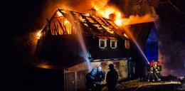 Ogromny pożar w Polanicy. Ogień strawił budynek