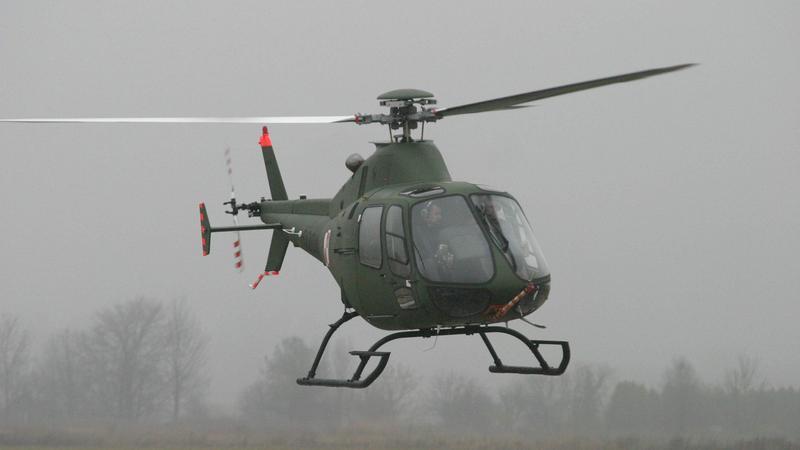 Śmigłowiec PZL SW-4 - to na jego podstawie stworzono drona SW-4Solo RUAS