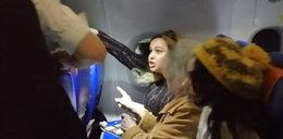 Bójka w samolocie. Żona posła rzuciła się na inną pasażerkę