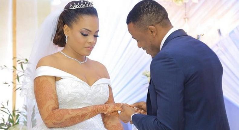 Alikiba and his wife. Is Alikiba's wife Amina pregnant ?
