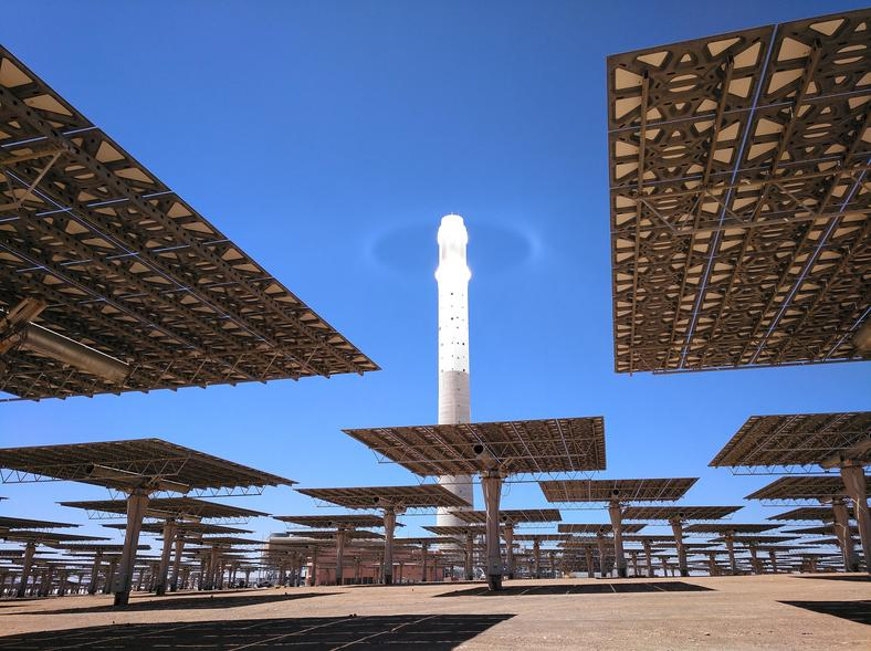 Noor Ouarzazate, World's Largest Solar Power Complex.