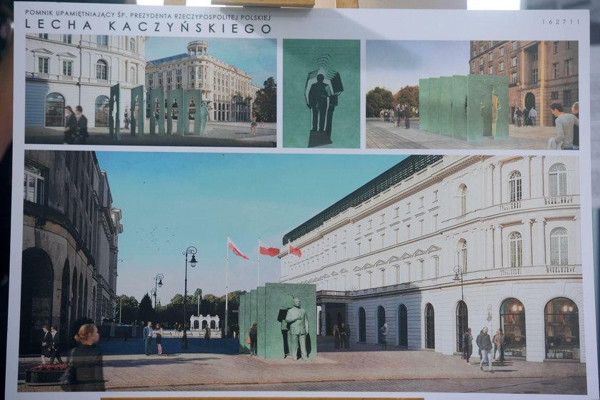 2,5 mln zł - tyle będzie kosztować pomnik Lecha Kaczyńskiego w Warszawie