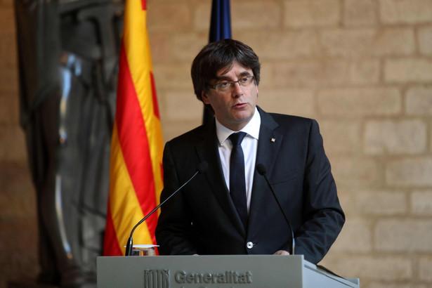 Jak powiedział Carles Puigdemont, władze centralne nie przedstawiły odpowiednich gwarancji, że nie wprowadzą bezpośrednich rządów w Katalonii
