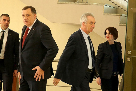 Milorad Dodik i Mirko Šarović