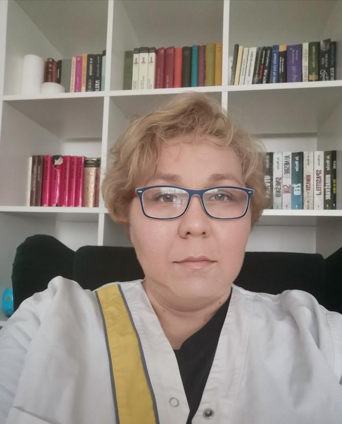 Dr Jelena Obrenović Stanković, anesteziolog i načelnica Jedinice intenzivnog lečenja (JIL) u Opštoj bolnici u Kruševcu