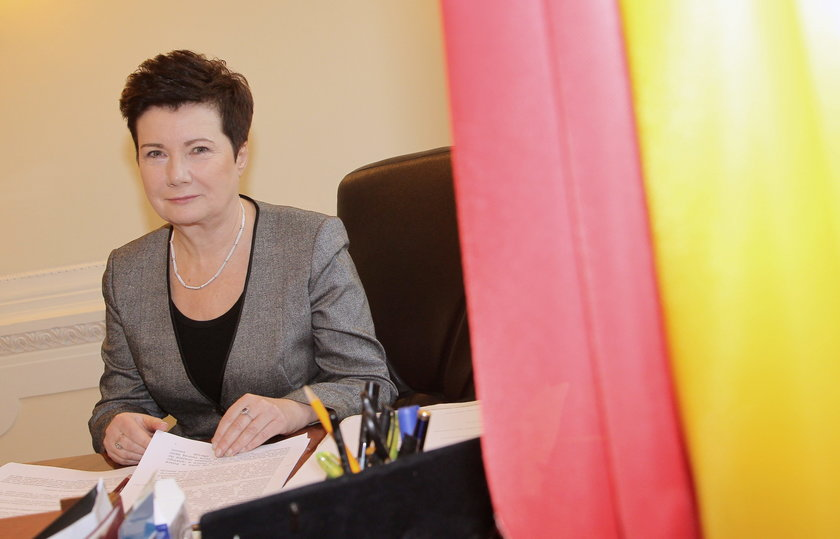 Prezydent Hanna Gronkiewicz-Waltz zarobiła więcej w zeszłym roku