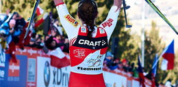Królowa nart biega w stringach