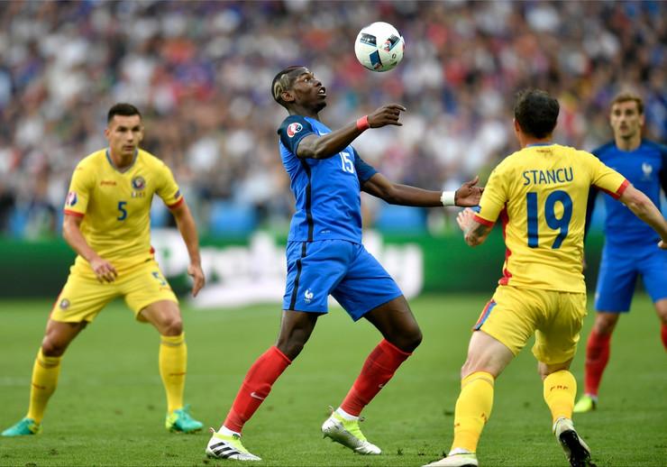 Fudbalska reprezentacija Rumunije, Fudbalska reprezentacija Francuske