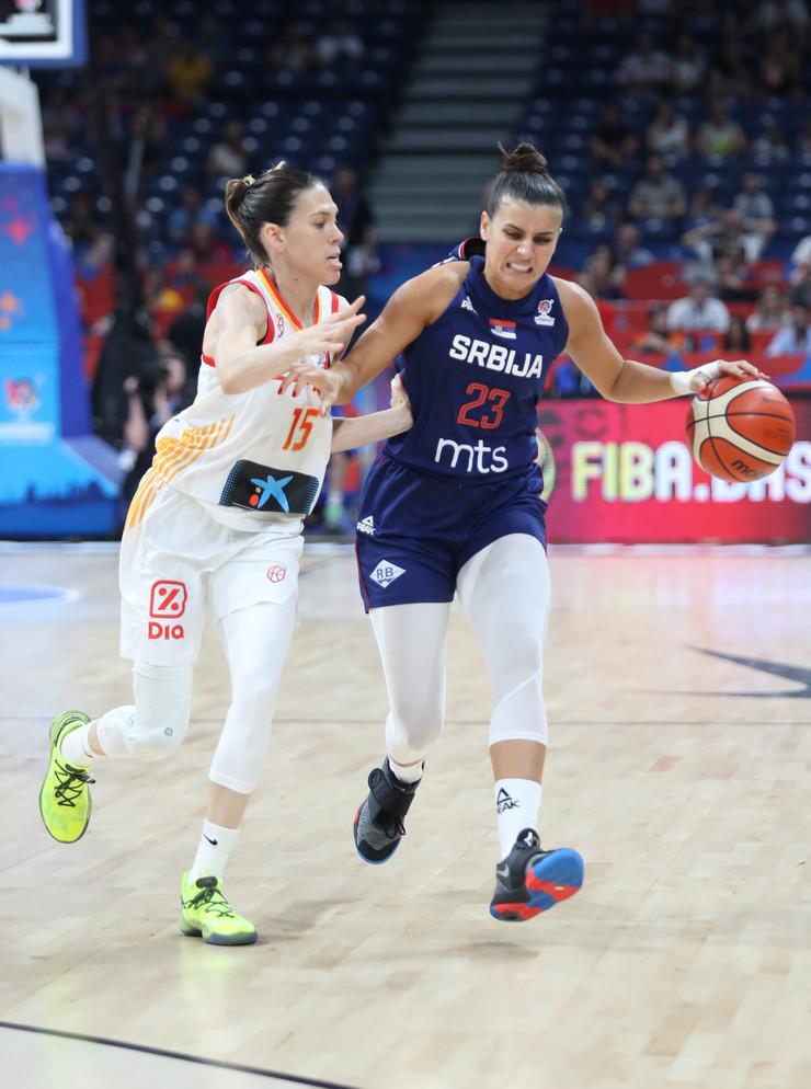 Ženska košarkaška reprezentacija Srbije, Španije, Košarkašice Srbije