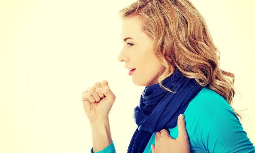 Dziwny kolor flegmy może zwiastować poważną chorobę