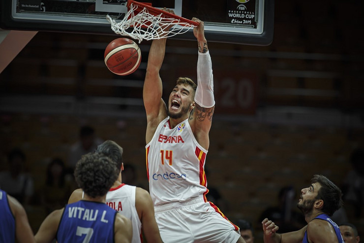 Vili Ernangomez, Košarkaška reprezentacija Španije