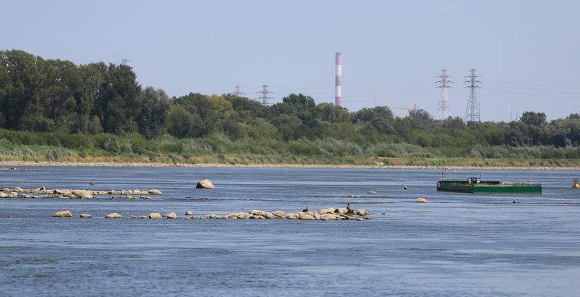Hydrolodzy alarmują: Wisła nam wysycha