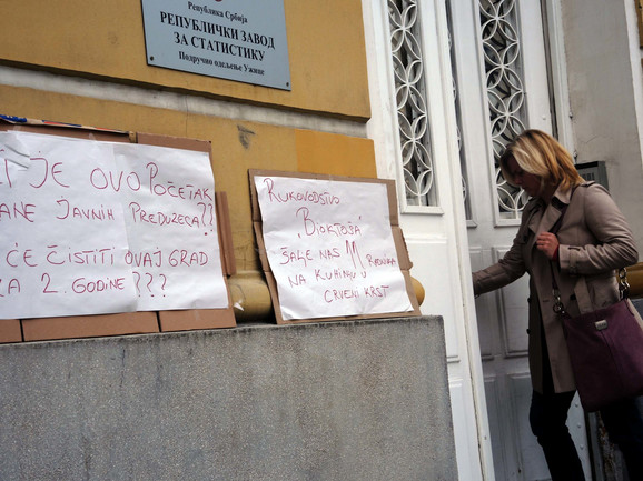 Užički komunalci ostavili poruke gradskim čelnicima