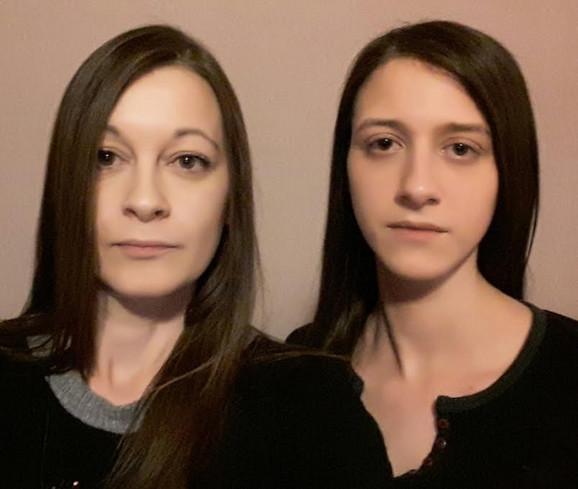 Marija Kalojević i Jovana Đorđević