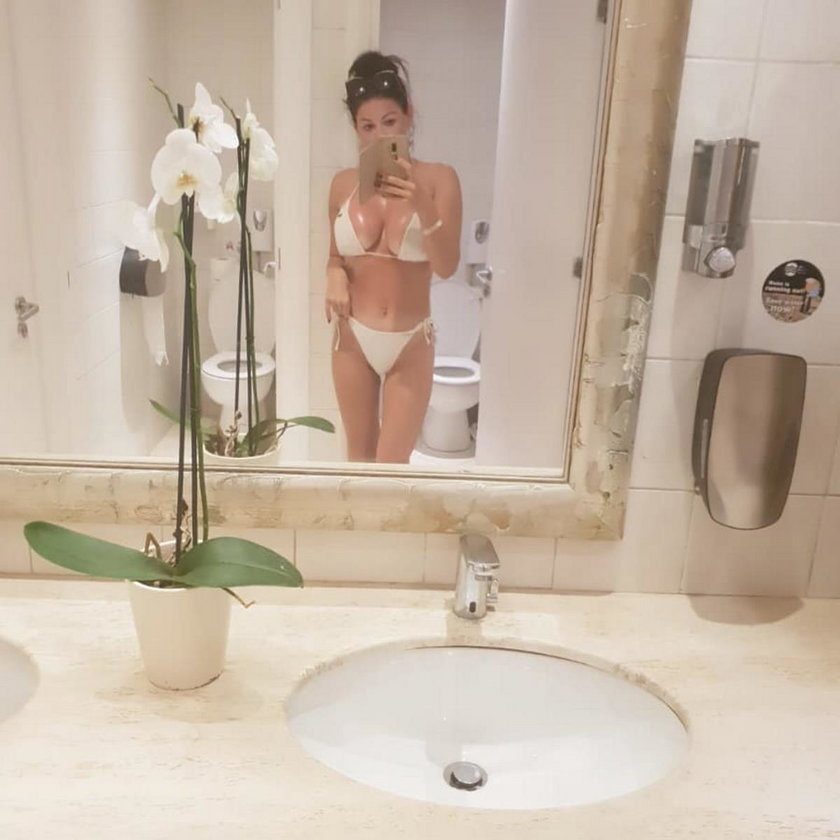 Iwona Węgrowska w bikini. Odważne zdjęcia