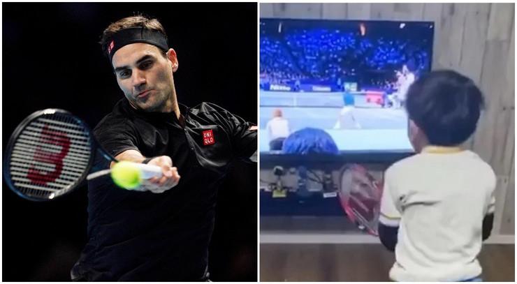 Rodžer Federer i Jonusuke