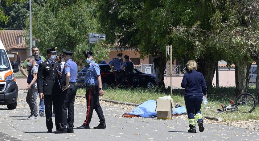 Strzelanina pod Rzymem. Zginęły 3 osoby, w tym dzieci